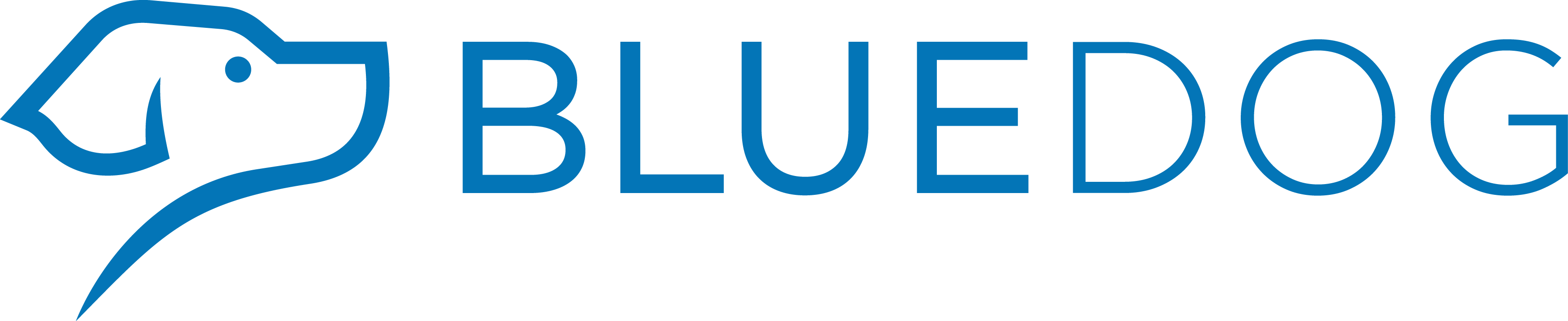 Blue Dog Merchant Logo